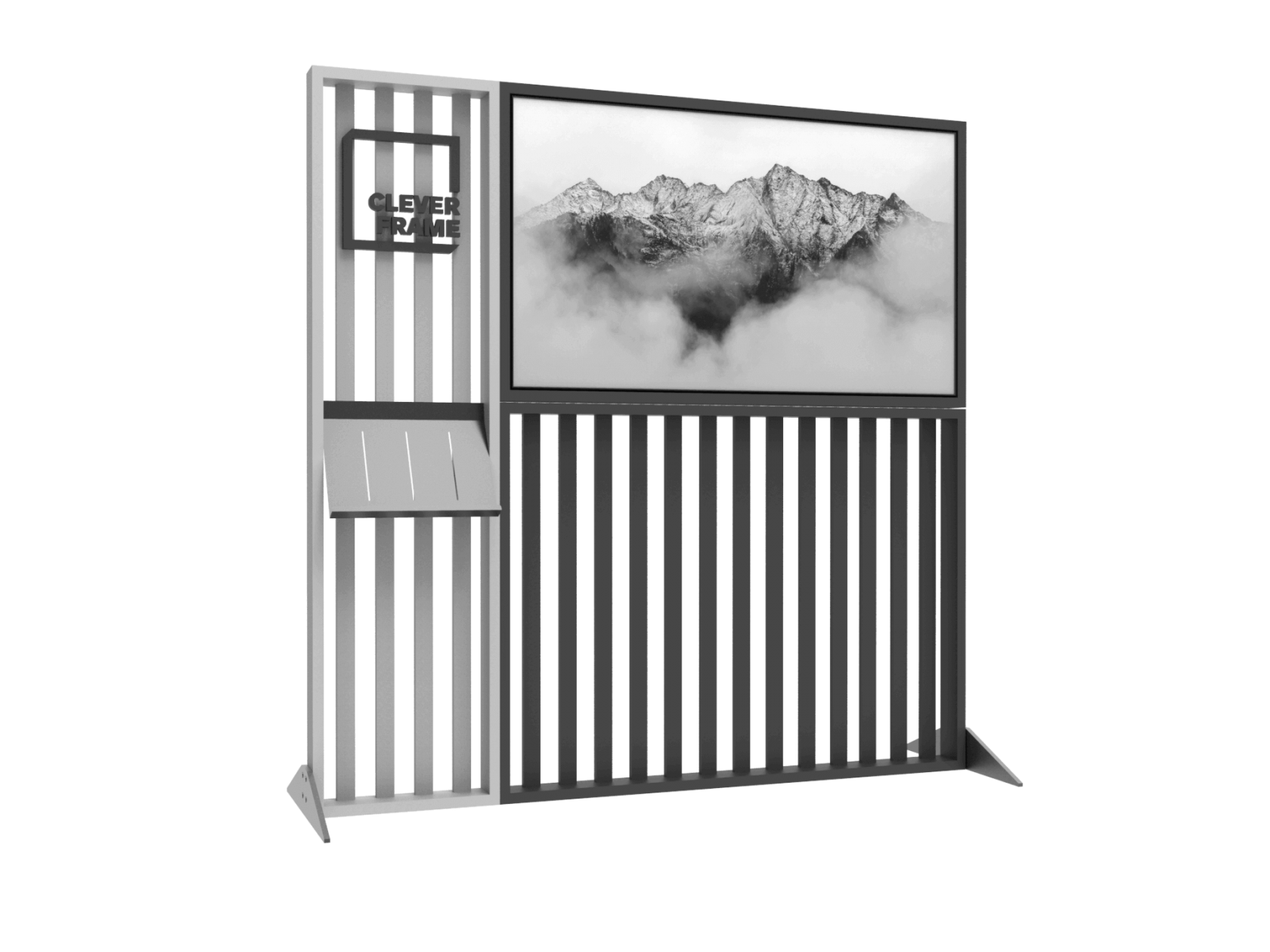 Deco Frame Multimedia-Stand